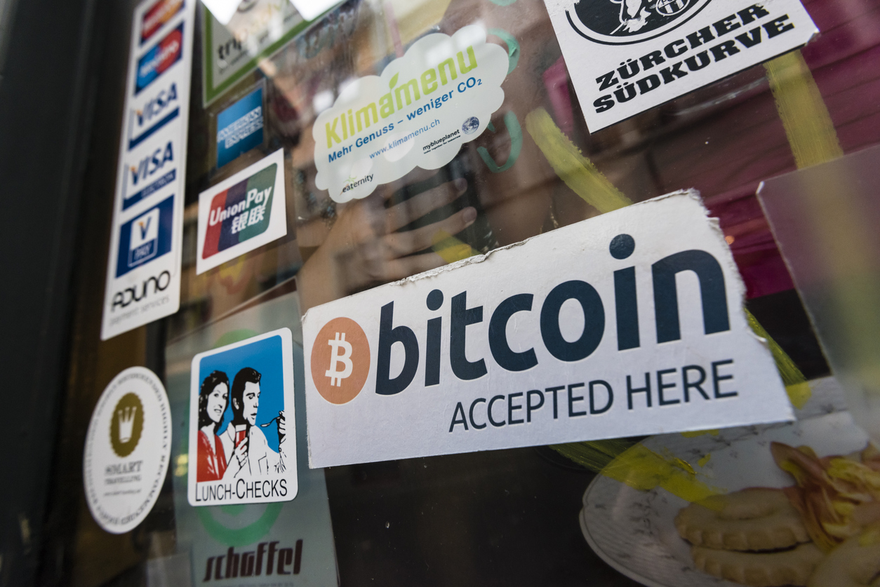 Cafe accepting Bitcoins